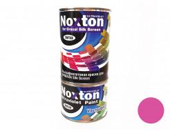 Флуоресцентная краска для оракала и самокл. пленки NoxTon Silk Screen for Oracal розовая