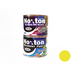 Флуоресцентная краска для стекла NoxTon Silk Screen for Glass желтая