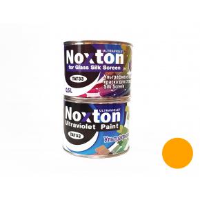 Флуоресцентная краска для стекла NoxTon Silk Screen for Glass темно-желтая