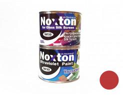 Флуоресцентная краска для стекла NoxTon Silk Screen for Glass темно-красная