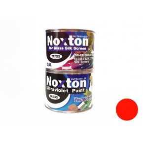 Флуоресцентная краска для стекла NoxTon Silk Screen for Glass оранжевая
