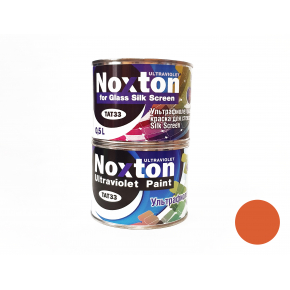 Флуоресцентная краска для стекла NoxTon Silk Screen for Glass темно-оранжевая