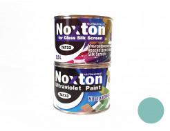 Флуоресцентная краска для стекла NoxTon Silk Screen for Glass голубая