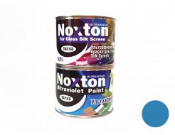 Флуоресцентная краска для стекла NoxTon Silk Screen for Glass синяя