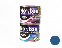 Флуоресцентная краска для стекла NoxTon Silk Screen for Glass темно-синяя