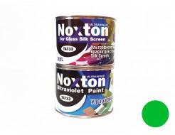 Флуоресцентная краска для стекла NoxTon Silk Screen for Glass зеленая