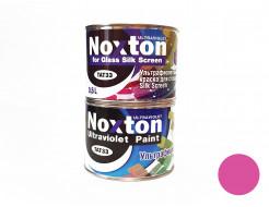 Флуоресцентная краска для стекла NoxTon Silk Screen for Glass розовая