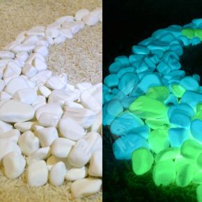Люминесцентные натуральные камни AcmeLight Nature Stones зеленое свечение - изображение 2 - интернет-магазин tricolor.com.ua