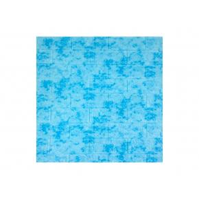 Самоклеящаяся декоративная 3D панель «Мрамор» #65 голубая