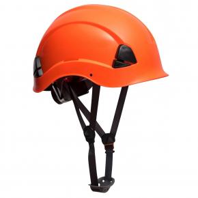 Каска защитная Portwest PS53 для работ на высоте оранжевая