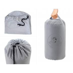 Комплект Dormeo AdaptiveGO АдаптивГоу серый одеяло 140х200 и подушка 50х70 - изображение 5 - интернет-магазин tricolor.com.ua