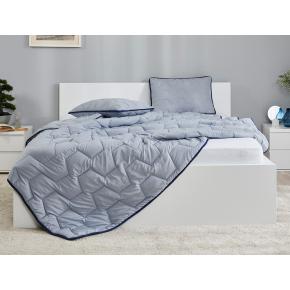 Комплект Dormeo AdaptiveGO АдаптивГоу серый одеяло 200х200 и подушка 50х70 - изображение 6 - интернет-магазин tricolor.com.ua