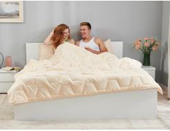 Комплект Dormeo AdaptiveGO АдаптивГоу кремовый одеяло 200х200 и подушка 50х70 - изображение 2 - интернет-магазин tricolor.com.ua
