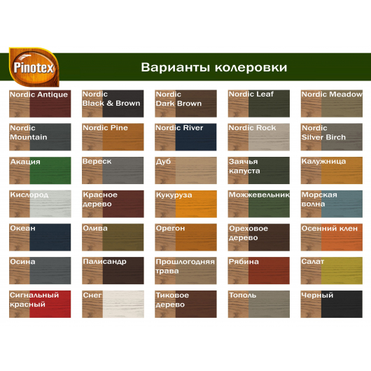 Масло для дерева Pinotex Terrace & Wood Oil атмосферостойкая - изображение 2 - интернет-магазин tricolor.com.ua