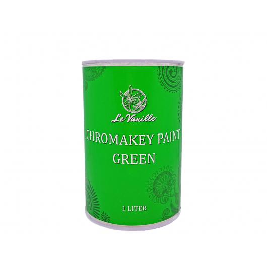 Краска хромакей Le Vanille ChromaKey Paint зеленая - интернет-магазин tricolor.com.ua