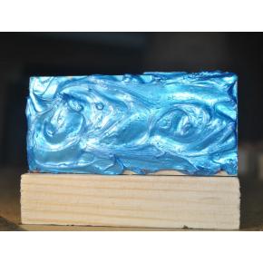 Декоративная краска с эффектом металлик Aurum AtrMetall голубая бронза - изображение 2 - интернет-магазин tricolor.com.ua