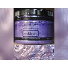 Декоративная краска с эффектом металлик Aurum AtrMetall сирень