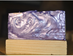 Декоративная краска с эффектом металлик  Aurum AtrMetall сирень - изображение 2 - интернет-магазин tricolor.com.ua
