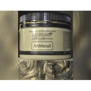 Декоративная краска с эффектом металлик Aurum AtrMetall жемчужина - интернет-магазин tricolor.com.ua