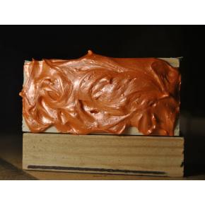 Декоративная краска с эффектом металлик Aurum AtrMetall оранжевое серебро - изображение 2 - интернет-магазин tricolor.com.ua