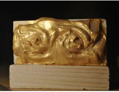 Декоративная краска с эффектом металлик  Aurum AtrMetall светлое золото - изображение 2 - интернет-магазин tricolor.com.ua