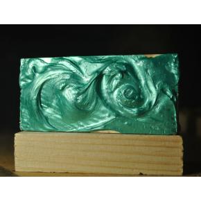 Декоративная краска с эффектом металлик Aurum AtrMetall изумруд - изображение 2 - интернет-магазин tricolor.com.ua