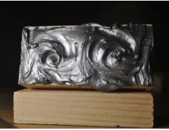 Декоративная краска с эффектом металлик  Aurum AtrMetall темное серебро - изображение 2 - интернет-магазин tricolor.com.ua