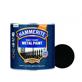 Краска антикоррозийная Hammerite молотковая Черная