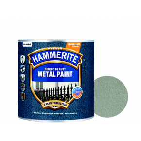 Краска антикоррозийная Hammerite молотковая Серебристо-серая - интернет-магазин tricolor.com.ua