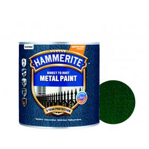 Краска антикоррозийная Hammerite молотковая Темно-зеленая - интернет-магазин tricolor.com.ua