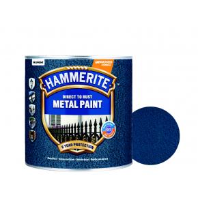 Краска антикоррозийная Hammerite молотковая Темно-синяя - интернет-магазин tricolor.com.ua