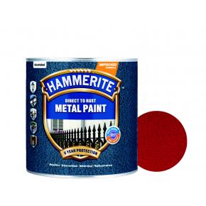 Краска антикоррозийная Hammerite молотковая Красная