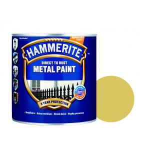 Краска антикоррозийная Hammerite гладкая Золотистая