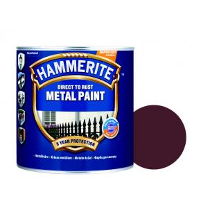 Краска антикоррозийная Hammerite гладкая Темно-коричневая - интернет-магазин tricolor.com.ua