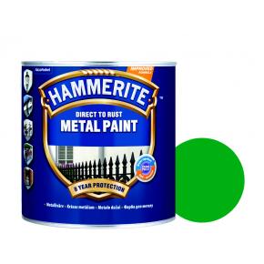 Краска антикоррозийная Hammerite гладкая Зеленая - интернет-магазин tricolor.com.ua
