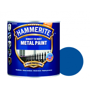 Краска антикоррозийная Hammerite гладкая Синяя