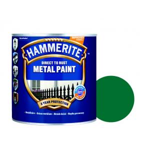 Краска антикоррозийная Hammerite гладкая Темно-зеленая - интернет-магазин tricolor.com.ua