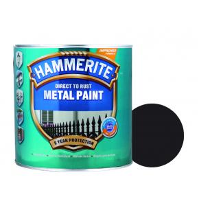 Краска антикоррозийная Hammerite сатин Черная полуматовая