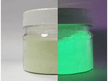 Пигмент Люминофор зеленый Tricolor 100-120 микрон