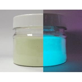 Люминесцентный пигмент Люминофор синий Tricolor 100-120 микрон - интернет-магазин tricolor.com.ua