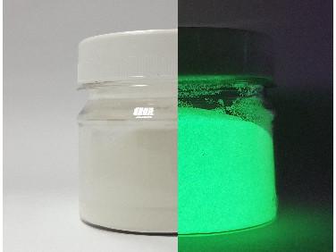 Пигмент Люминофор зеленый Tricolor 5-15 микрон