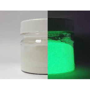 Люминесцентный пигмент Люминофор зеленый Tricolor 5-15 микрон - изображение 2 - интернет-магазин tricolor.com.ua
