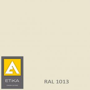Краска порошковая полиэфирная Etika Tribo Жемчужно-белая RAL 1013 шагрень