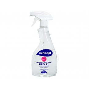 Антисептик MiniSept PRO A1 жидкость для дезинфекции инструментов и поверхностей с распылителем