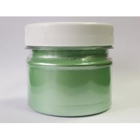 Перламутр PG-436/10-60 мк зеленый Tricolor