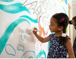 Краска интерьерная маркерная Akrida белая - изображение 2 - интернет-магазин tricolor.com.ua