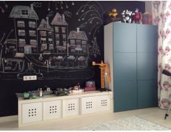 Интерьерная грифельная краска Akrida черная - изображение 3 - интернет-магазин tricolor.com.ua