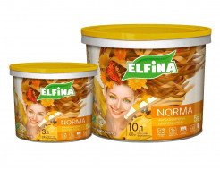 Краска интерьерная Norma Elfina (белая матовая)