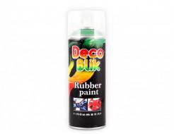 Краска резиновая Deco Blik флуоресцентная зеленая RRL 1003 - интернет-магазин tricolor.com.ua