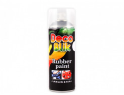 Краска резиновая Deco Blik серебристая RRL 0036 - интернет-магазин tricolor.com.ua